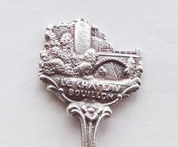 Collector Souvenir Spoon Belgium Bouillon Le Chateau Castle Figural - $18.99