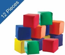 ECR4Kids SoftZone Toddler Soft Blocks 12 Pc Stacking Set Development Pla... - $73.26