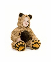 New Princess Paradise Baby Chenille Teddy Bear Brown Costume 12 to 18 Mo... - $24.19