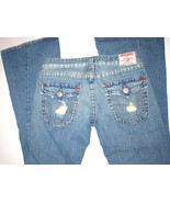 New Womens True Religion Joey Jeans 30 X 34 Dis... - $149.99