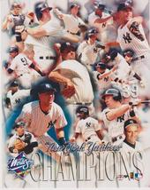 New York Yankees 1998 World Series Composite Vintage 8X10 Color Baseball... - $4.99