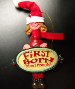 Kurt S Adler Christmas Ornament Moms Favorite First Born Young Girl Orig... - $8.99