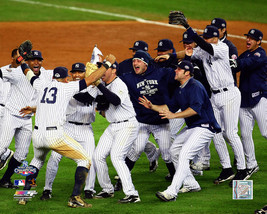 New York Yankees 2009 World Series Celebration Vintage 8X10 Color Baseba... - $4.99