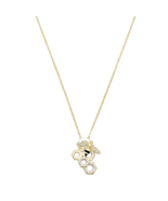 Gorgeous 14 Karat Gold Plated Sterling Silver a... - $71.49