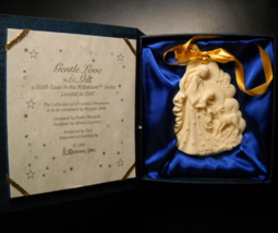 Roman Christmas Ornament 1997 Gentle Love Sixth Issue in Millenium Serie... - $11.99