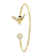 One Size Fits All 14 Karat Gold Plated Sterling... - $75.99