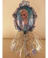 Disney Frozen Anna Elsa Table CenterPieces Birthday Foil 5 Balloons Deco... - $28.04