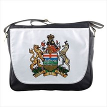 Alberta Canada Coat of Arms Messenger Bag - Tabard Surcoat - $36.26