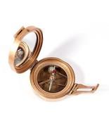 Vintage Brinton Surveyor Compass - Solid Brass Reproduction Tool - Free ... - $28.05