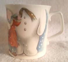 Vintage Royal Doulton The Snowman Gift Collection Coffee Cup Mug 1985 England - $18.95