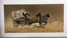 Race with the Hostiles by Frank McCarthy - $500.00