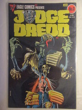 JUDGE DREDD--#3--EAGLE COMICS - $3.99