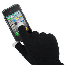 Unisex Touch Screen Knit Gloves Magic Texting Fingers Smart Phone Warm W... - $3.99