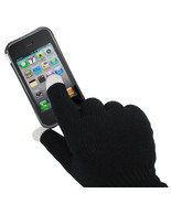 Unisex Touch Screen Knit Gloves Magic Texting Fingers Smart Phone Warm W... - $5.20 CAD