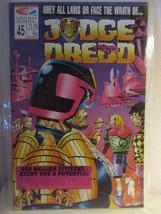 JUDGE DREDD--#45--FLEETWAY QUALITY COMICS - $1.99