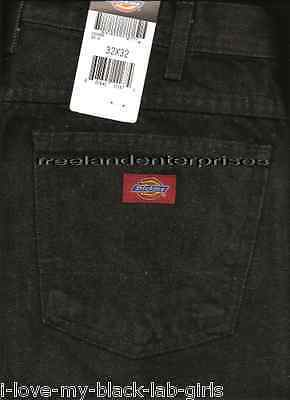 Primary image for Mens Pants Dickies Denim Jeans ~BLACK~ Size 32 X 32 NWT