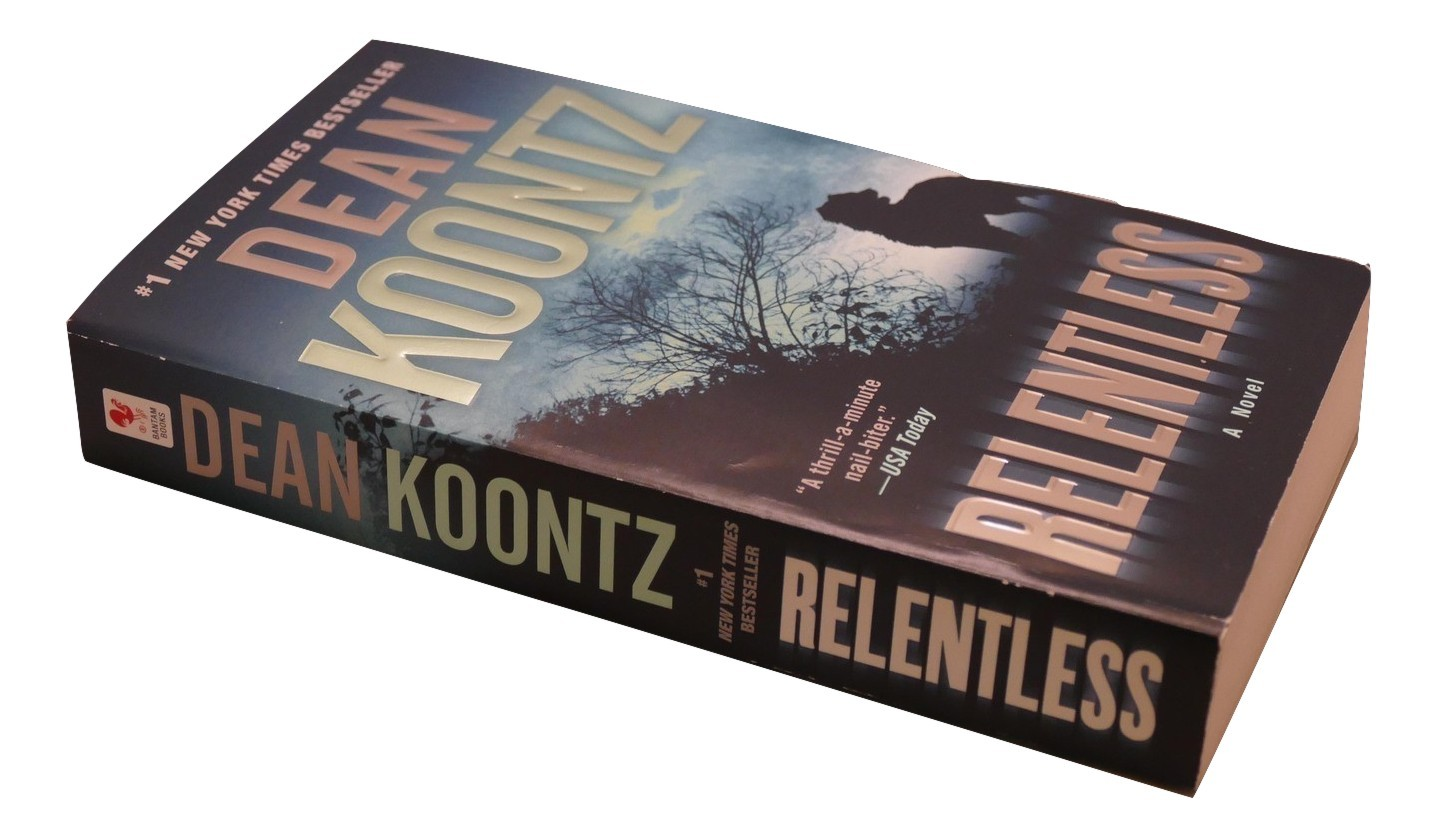 Primary image for Relentless by Dean Koontz Paperback Book Fiction
