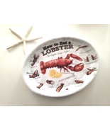 How to Eat Lobster Plates for clambakes, lobste... - $19.99