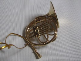 Brass French Horn   Musical Instrument Ornament   - $13.81