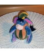 "Winnie Pooh Sweet Eeyore Plush 7"" Stuck in Autumn Gourd Pumpkin - $6.29"