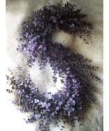 Eucalyptus Monogram Wreath Letter S ONLY 26x20 READY to SHIP Wall Decor~... - $175.00