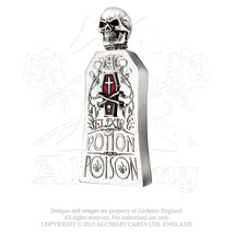 Alchemist Potion Bottle (Red) English Pewter Flask by Alchemy Gothic - €103,59 EUR