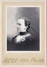 Edith Frederic Cabinet Photo - Madison, Maine (1899) - $17.50