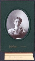Iva McArdle Cabinet Photo - Lewiston / Farmington Maine ca. 1899 - $17.50