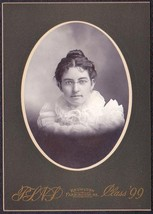 Edith D. Huff Cabinet Photo - Wellington, Maine (1899) - $17.50