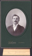 Mr. Jackman Cabinet Photo - Faculty, Farmington Maine State Normal School - $17.50
