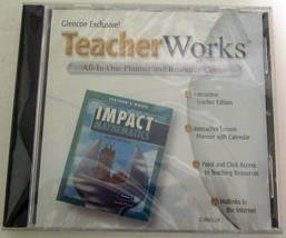Teacher Works All-In-One Planner and Resource Center (Glencoe) CD-ROM (o... - $12.86