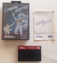 SEGA Cyborg Hunter SMS Video Game 1988 Case Ma... - $23.36
