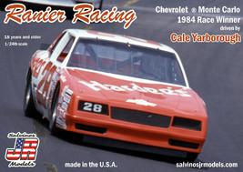 Salvinos JR Models 1/24 Ranier Racing 1984 Monte Carlo Cale Yarborough #28 - $39.59