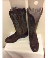 Justin Women's Stampede Sorrel Apache Western Boots Square Toe L2552 Siz... - $44.95