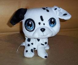 """Littlest Pet Shop Plush 7"""" Spotted Dalmatian Puppy Dog Bobble Head Wants... - $5.95"""