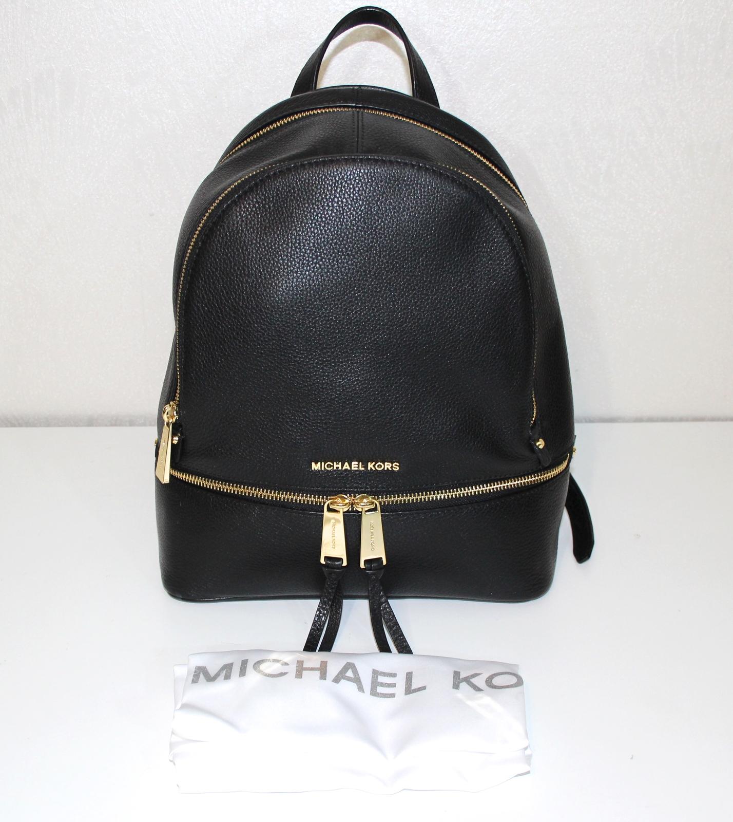 32db9507ce4e Michael Kors Rhea Backpack Medium Black and 50 similar items. Img 1400