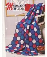 Medallion Crochet Afghan Pattern Annie's Croche... - $2.50
