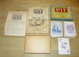 PIT CARD GAME FROM PARKER BROTHERS - COPYRIGHT 1919 EDITION - $14.49