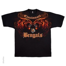 CINCINNATI BENGALS New with tags FACE - OFF  T-Shirt BLACK shirt NFL - $24.99+