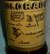 Colorado  Amber Mug Beer With Wooden Handle CO ... - $14.85