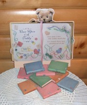 Cherished Teddies Nursery Rhyme Book Displayer -CRT013- Once Upon A Teddy - $12.99