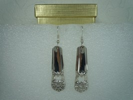 International Eternally Yours 1941 Earrings Silverplate - $32.66