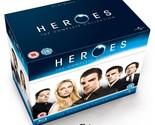 Heroes The Complete TV Series Collection Seasons 1-4 Blu-Ray Limited Edition NEW