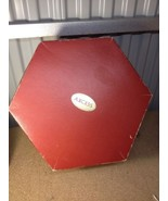 Vintage Betmar Wool Ladies, Round Derby Hat black Felt W/ Access Hatbox ... - $23.33