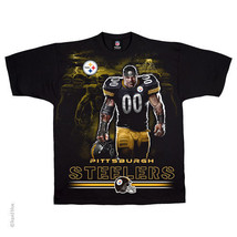 PITTSBURGH STEELERS  New with tags TUNNEL T-Shirt BLACK shirt NFL TEAM A... - $21.99+