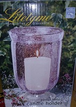 HandCrafted Glass Candle Holder - $24.53