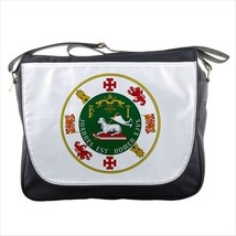 Seal of Puerto Rico Messenger Bag - Tabard Surcoat - $36.26