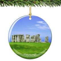 Stonehenge Christmas Ornament Porcelain - $15.83