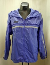 Columbia Purple/Grey Zip Front Hooded Nylon Jacket - Youth 14/16 - $10.40