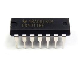 5 PCS Texas Instruments CD4011BE CD4011 - CMOS Quad 2-Input NAND Gate - ... - $6.91